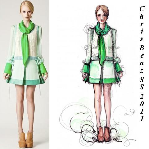 Kathryn Elyse. Fashion Illustrations. Изображение № 4.