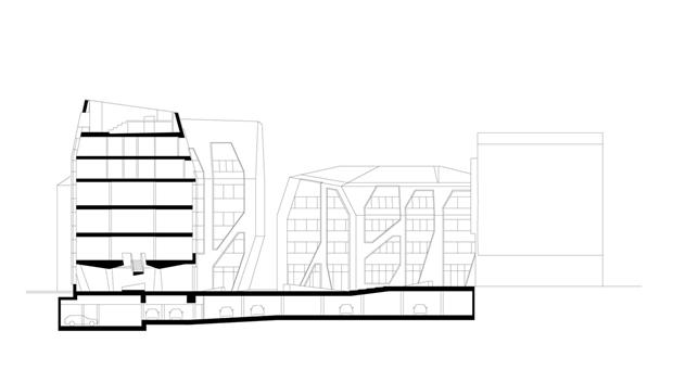 Архитектура дня: чёрно-белый квартал вцентре маленького города. Изображение № 12.