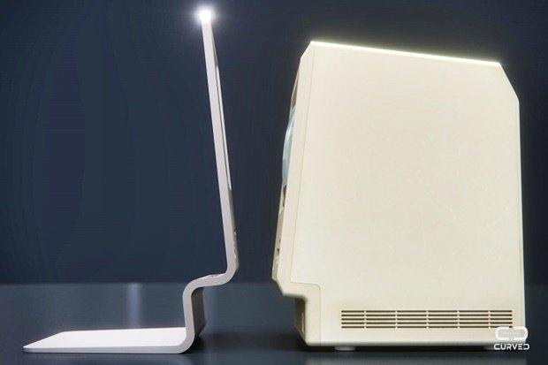 Концепт: современный iMac в стиле Macintosh 128K 1984 года. Изображение № 13.