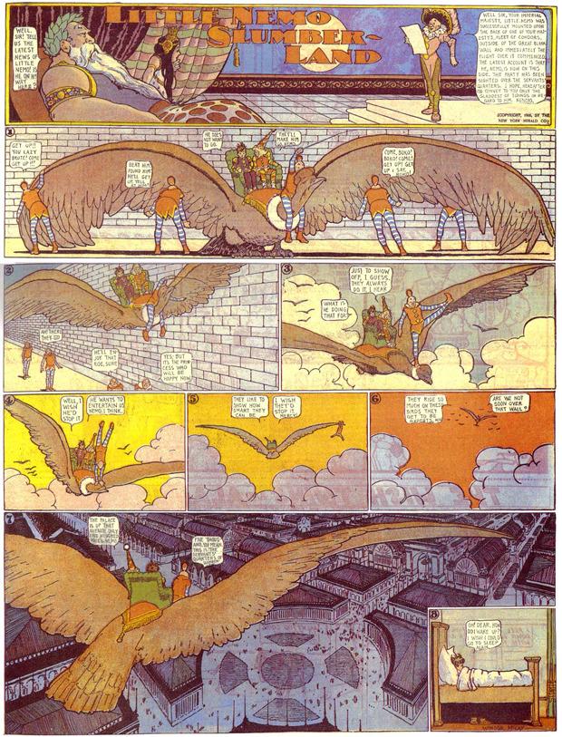 Google отметил 107-летие комикса «Маленький Немо». Изображение № 3.