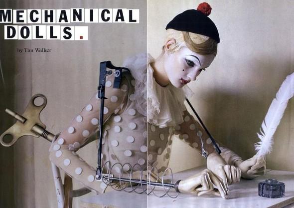 Съёмка: Тим Уокер для итальянского Vogue. Изображение № 1.