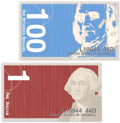 Как дать доллару вторую жизнь: Вашингтон и другие в новом дизайне. Изображение №11.
