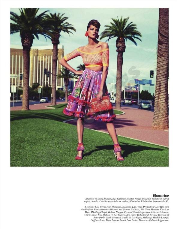 Съёмка: Дарья Вербова для французского Vogue. Изображение № 66.
