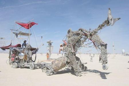 """Фестиваль """"Burning Man! """" вНеваде. Изображение № 25."""