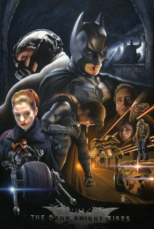 Фан-постеры «Темного рыцаря: Возрождение Легенды». Изображение № 5.