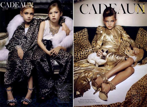 Маленькие модели в Vogue Paris. Изображение № 10.