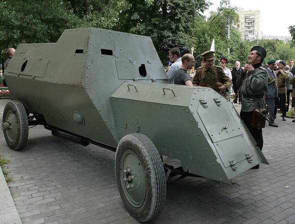 Броневик «Руссо-Балт» идругие военные автораритеты. Изображение № 1.