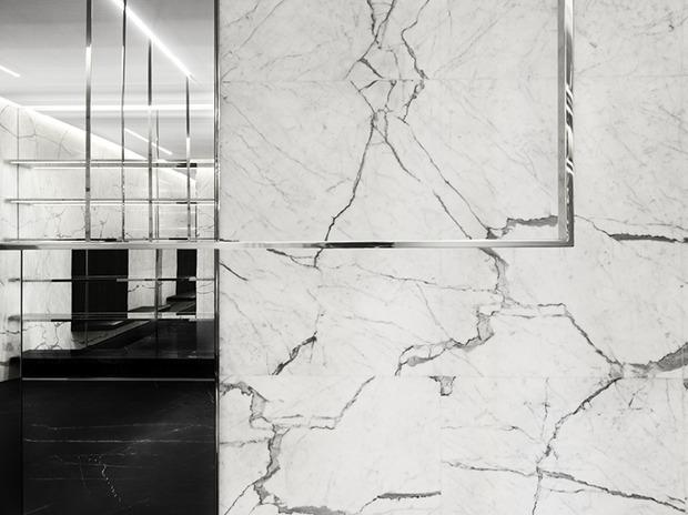 Эди Слиман разработал дизайн бутика Saint Laurent. Изображение № 8.