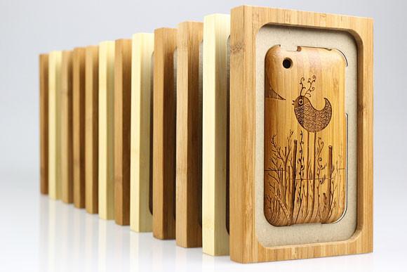 Деревянные корпуса для iPhone. Изображение № 15.
