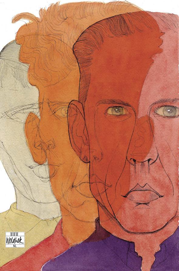 Герард РЕВЕ «По дороге к концу» (1963) «Ближе к тебе» (1966). Изображение № 2.