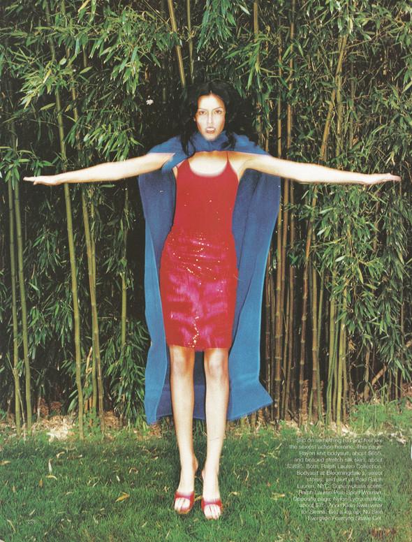 Архивная съёмка: Терри Ричардсон для Harper's Bazaar, 1997. Изображение № 3.