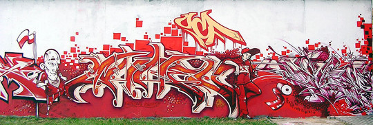 Интервью с граффити райтером Stan One. Изображение № 11.