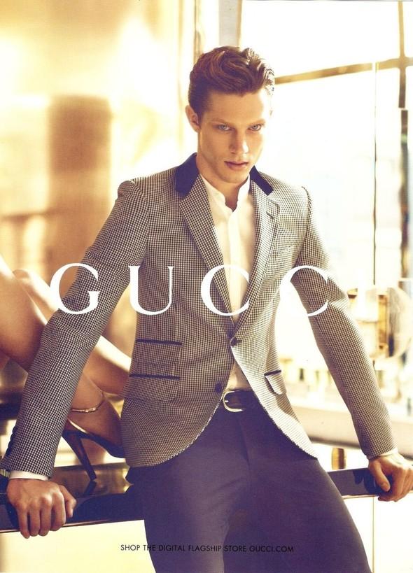 Превью мужских кампаний: Gucci, YSL и другие. Изображение № 5.