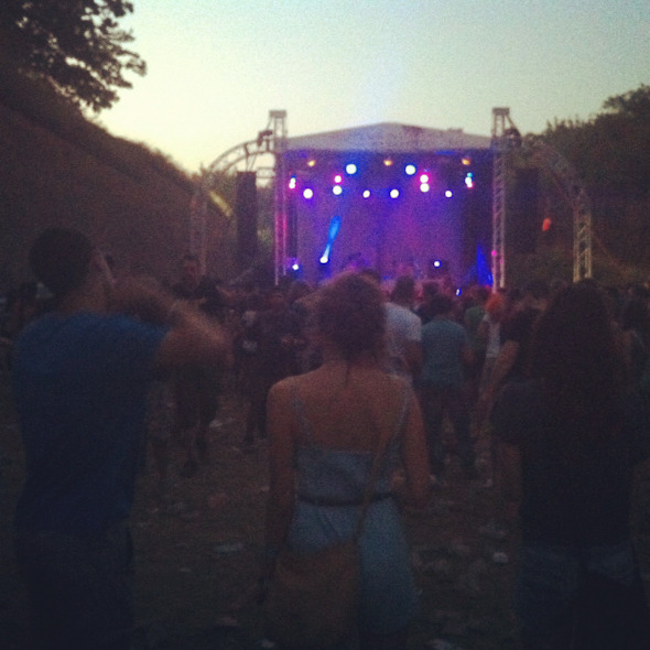 Дневник с фестиваля Exit: Ракия, южная душа, фейерверки и лазеры. Изображение № 14.
