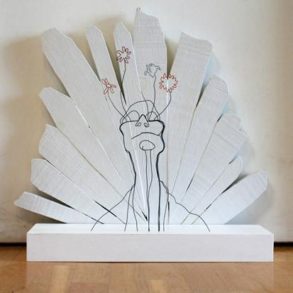 Скульптуры из проволоки Гэвина Ворта. Изображение № 13.