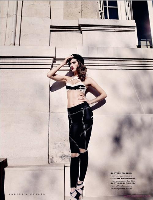 """""""Французский шик"""" для Harpers Bazaar. Изображение № 3."""