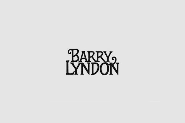 Шрифт с постера для фильма «Барри Линдон». На нём использован рукописный шрифт. Изображение № 5.