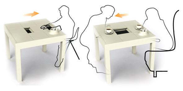 Болтливый COFFEE TABLE. Изображение № 4.