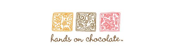 День шоколада. Вкусные шоколадные логотипы. Изображение № 1.