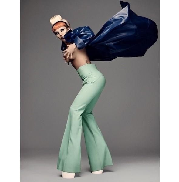 Изображение 4. Леди Гага в съемке для i-D.. Изображение № 4.