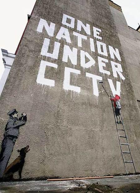 Изображение 1. Новая выходка арт-террориста Banksy.. Изображение № 1.