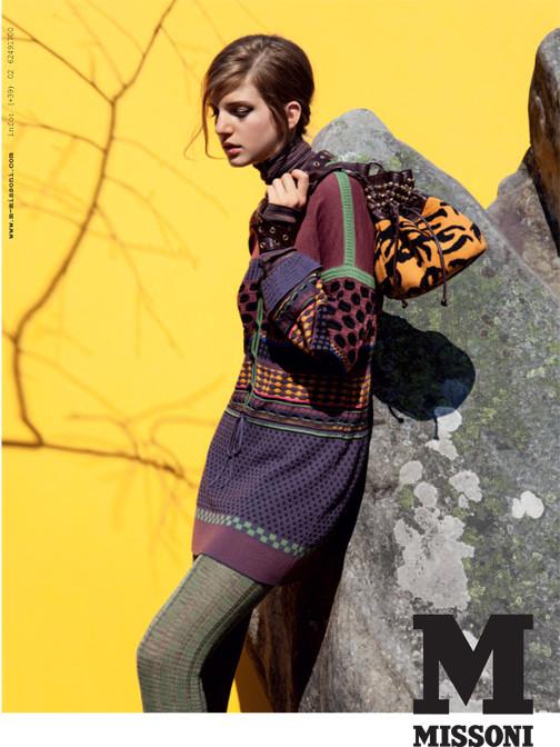 Кампания: Катерина Равалья для M Missoni FW 2011. Изображение № 6.
