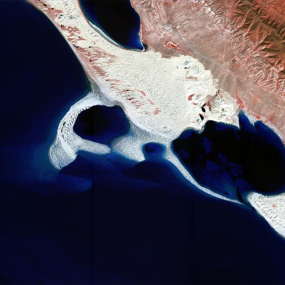 Как выглядит Китай: Сюрреалистичные фотографии из космоса. Изображение № 5.