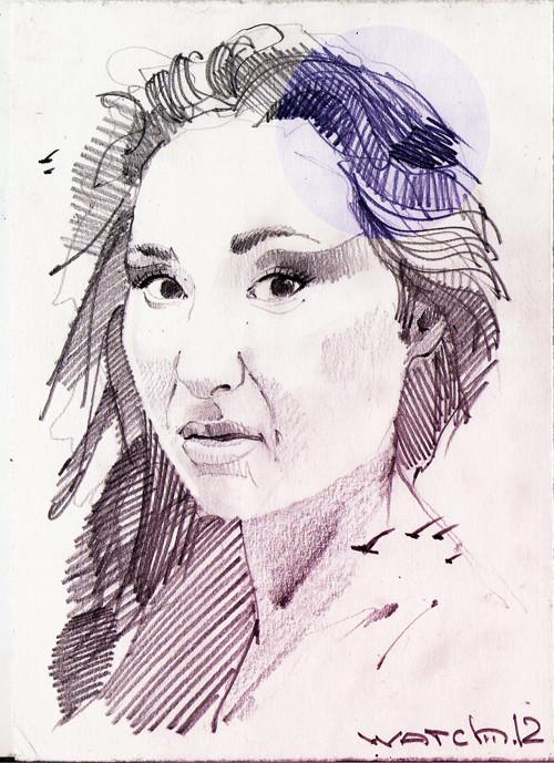 Sketch portraits. Изображение № 1.