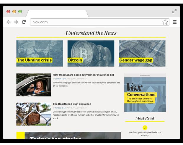Сайт Vox помогает разобраться в мировых новостях. Изображение № 3.