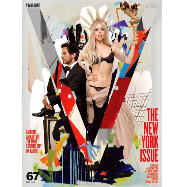 Леди Гага и Марк Джейкобс появятся на обложках V. Изображение № 1.