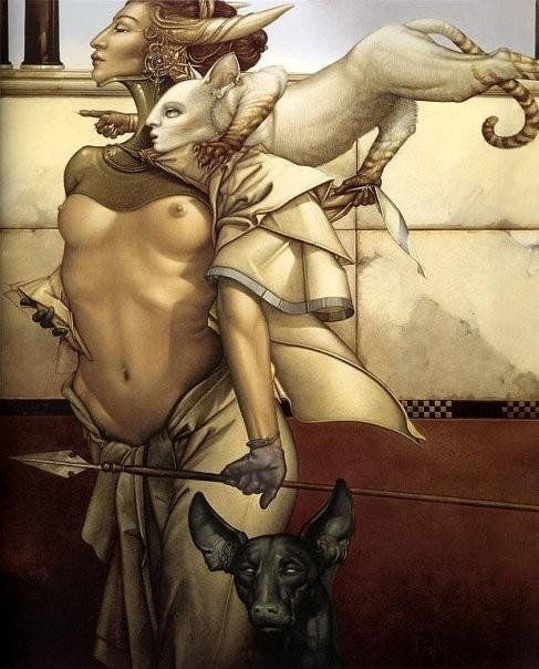 Изображение 10. Michael Parkes.. Изображение № 10.