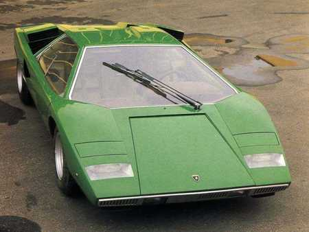 Lamborghini 1974 Countach LP400. Изображение № 6.