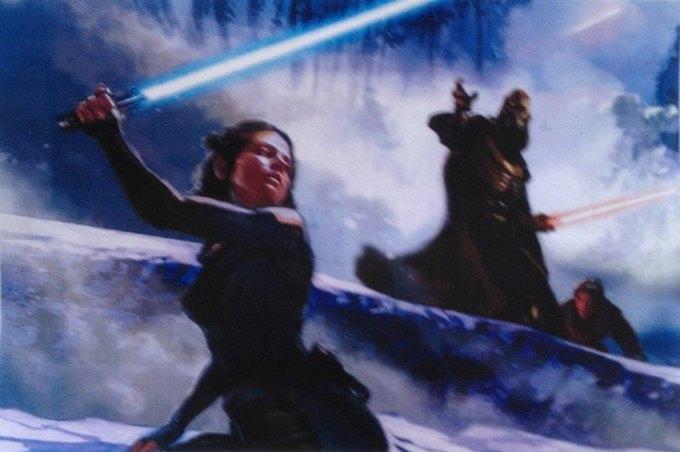 В Сеть выложили 32 концепт-арта для «Звёздных войн VII». Изображение № 6.
