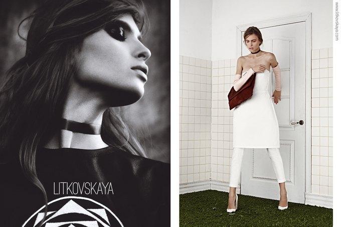 Показана весенне-летняя кампания марки Litkovskaya. Изображение № 2.