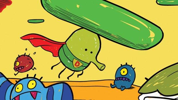 Комикс Doodle Jump объяснит, почему прыгает Дудлер. Изображение № 1.