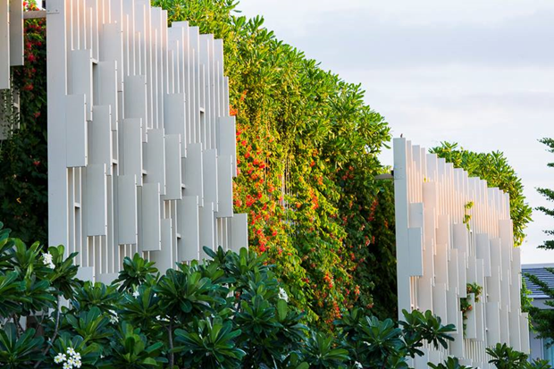 Архитектура дня: белый спа-центр во Вьетнаме с растениями на фасаде. Изображение № 5.