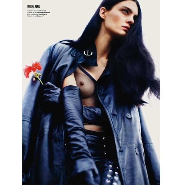 5 новых съемок: Dossier, Elle, V и Vogue. Изображение № 21.