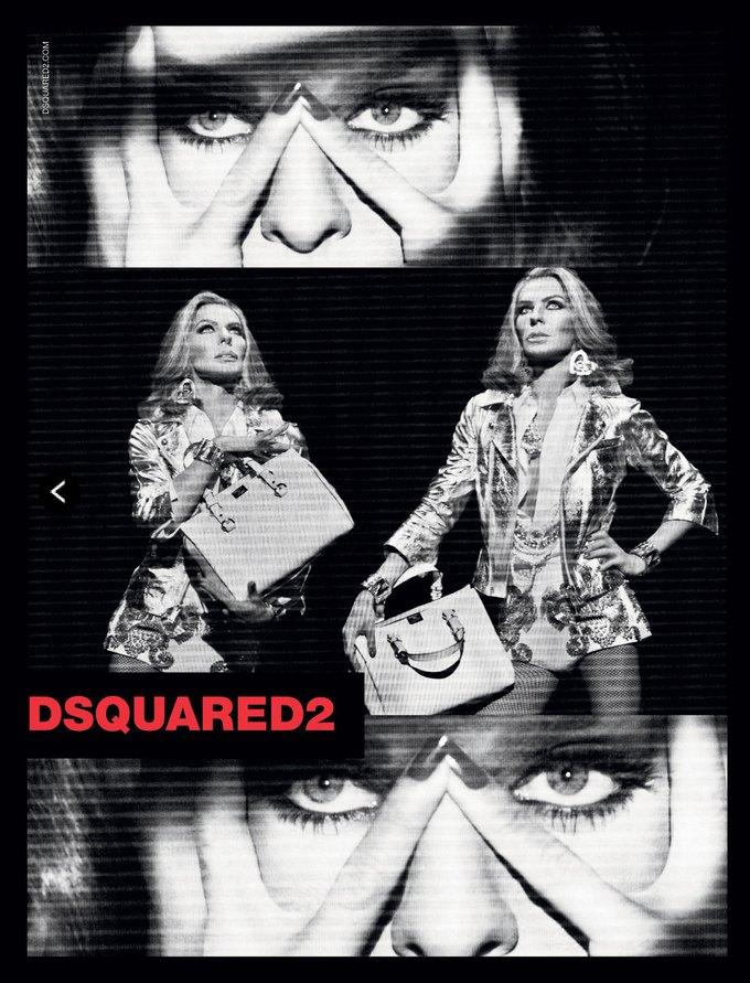 Дизайнеры Dsquared² переоделись в женщин для своей кампании. Изображение № 5.