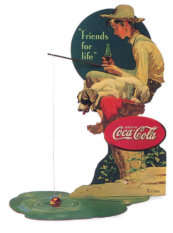 Рекламные плакаты coca-cola. Изображение № 17.