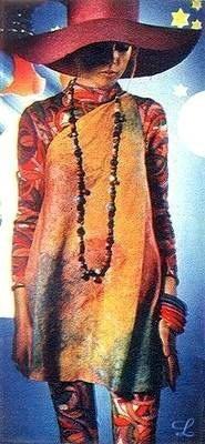Мода 60х:наркотические фантазии безумных арлекинов. Изображение № 7.