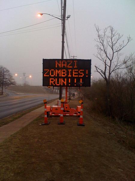 Зомби атакуют Техас илиКак взламываются дорожные знаки. Изображение № 4.