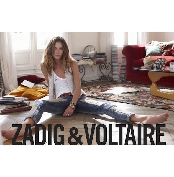 Изображение 26. Рекламные кампании: Mango, People Tree, Pinko, Zadig & Voltaire.. Изображение № 26.