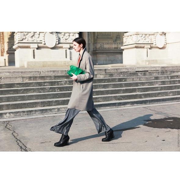 Изображение 158. На полях: 10 тенденций уличного стиля с прошедших недель моды.. Изображение № 158.