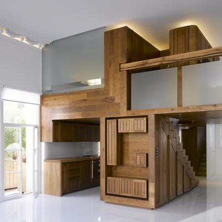 А-ля натюрель: материалы в интерьере и архитектуре. Изображение № 42.