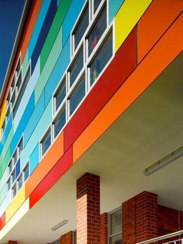 Изображение 4. Разноцветная школа от австралийских архитекторов.. Изображение № 4.