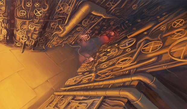 Анимация: бродяга спасает пса встимпанковском городе. Изображение № 27.