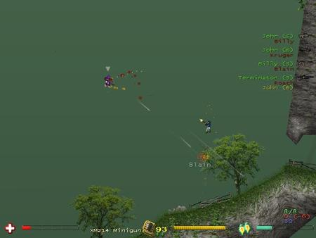Soldat2D- Смесь Quake, CSи Worms2D. Изображение № 1.