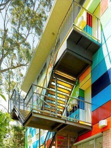 Изображение 7. Разноцветная школа от австралийских архитекторов.. Изображение № 7.