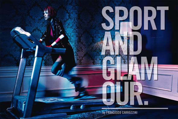 Быстрее, выше, сильнее: Модные съемки, вдохновленные спортом. Изображение №22.