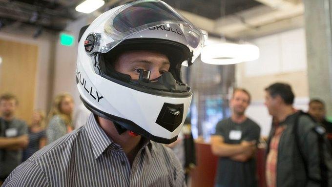 «Умный» мотоциклетный шлем собрал 870 тысяч долларов за два дня . Изображение № 3.